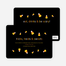 Candy Corn Lovers Tricks, Treats and Sweets - Orange