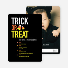 Trick or Treat Candy Corn - Black