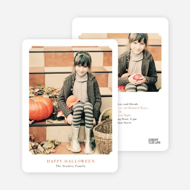 Matte It Halloween Cards - Carrot