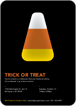 Trick or Treat Candy Corn - Orange