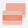 Flower Shower Baby Shower Invitations - Orange