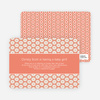 Flower Shower Baby Shower Invitations - Orange