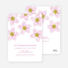 Twin Flowers - Magenta