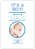 It's a Boy Announcement - Front View