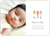 Share Rattle and Roll Birth Announcements - Pink Rattle