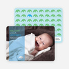 Simply Photos: Find the Elephant Modern Baby Announcement - Baby Blue
