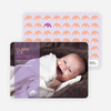 Simply Photos: Find the Elephant Modern Baby Announcement - Light Lavender