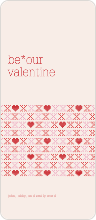 Stitches of Love Valentine's Day Cards - Beige