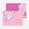 Vintage Flower Bouquet Bridal Shower Invitations - Pink