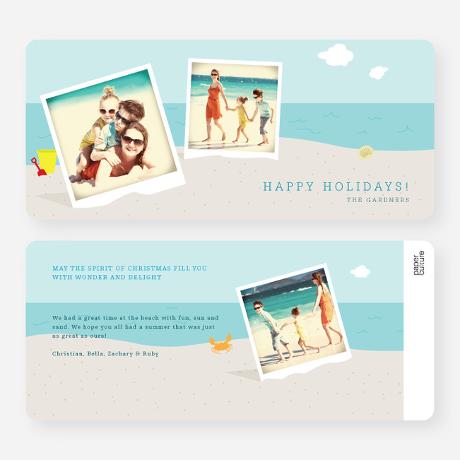 Beach Boys Holiday Cards - Blue
