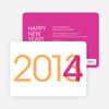 Changing Years New Year's Party Invitation - Pink