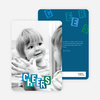 Kids Holiday Cards: Cheers - Blue