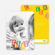 Cheers Letters - Multi