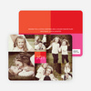Collage of Joy Multi–Photo Holiday Cards - Pink