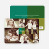 Collage of Joy Multi–Photo Holiday Cards - Green