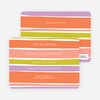Color Stripes Invites - Main View