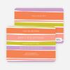 Color Stripe Party Invitations - Multi