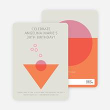Cosmo Invitations - Orange
