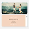 Flourish Save the Date Cards - Orange