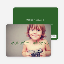 Happiest Holidays - Green