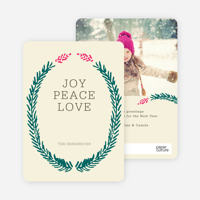 Holiday Cards Fir (sic) You - Green