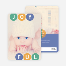 Joyful Ornaments - Blue