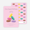 Macaron Party Invitations - Main View