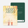 Merry Merry Holiday Cards - Green