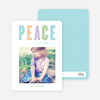 Peace Holiday Cards - Blue