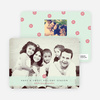 Peppermint Holiday Photo Cards - Green