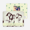 Peppermint Holiday Photo Cards - Yellow