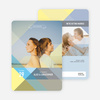 Prism Save the Date Cards - Yellow