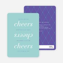 Three Cheers - Purple