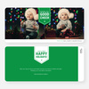 Wishing You Good Cheer Holiday Cards - Green