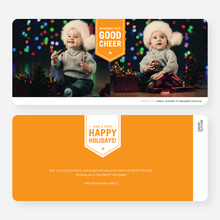 Wishing You Good Cheer - Orange