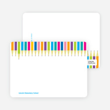Color our World Personal Stationery - Multi