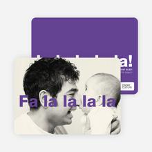 Fa–la–la–la–la - Purple
