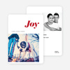 Holiday Cards: Joy - Red