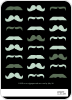 Movember Mustache Invitations - Back View