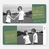 Denim Jeans Holiday Cards - Green