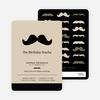 Movember Mustache Invitations - Main View