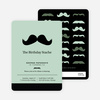Movember Mustache Invitations - Main View