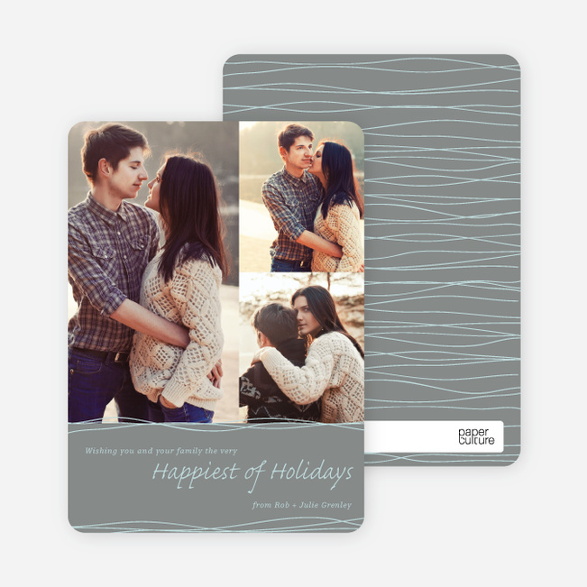 Very Happiest of Holiday Cards - Green
