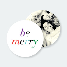 Eat, Drink and Be Merry Coasters - Multi