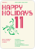 Happy Holidays Splash - Front View