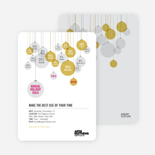 Corporate Holiday Party Invitations - Wheat
