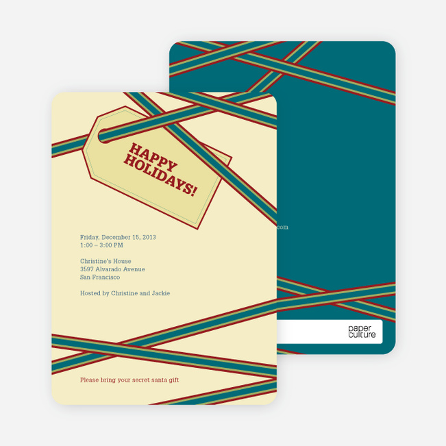 Holiday Gift Cards - Buttercup