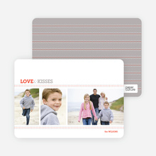 Love and Kisses Valentine's Day Cards - Mercury