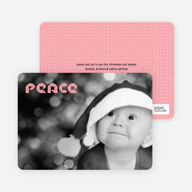 Modern Peace Photo Cards - Lavender