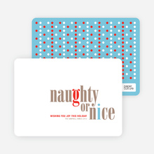 Naughty or Nice - Pebble